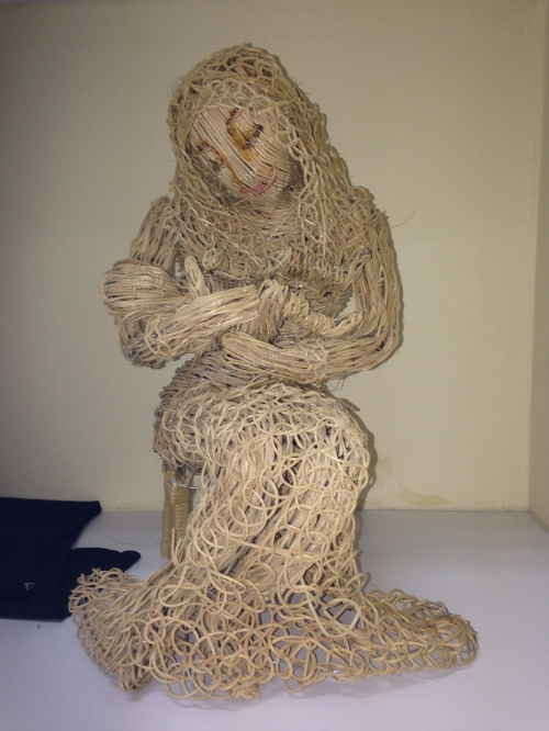 Figurine made out of rattan - I am sure no else