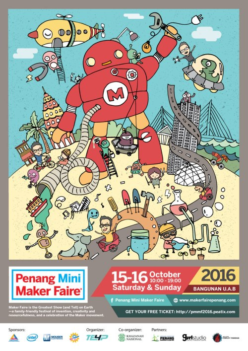 Penang Mini Maker Faire 2016
